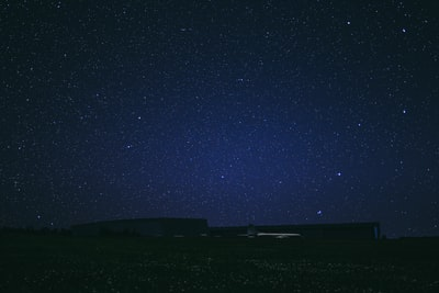 starry sky at night luminescence zoom background