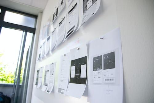 home office bulletin board