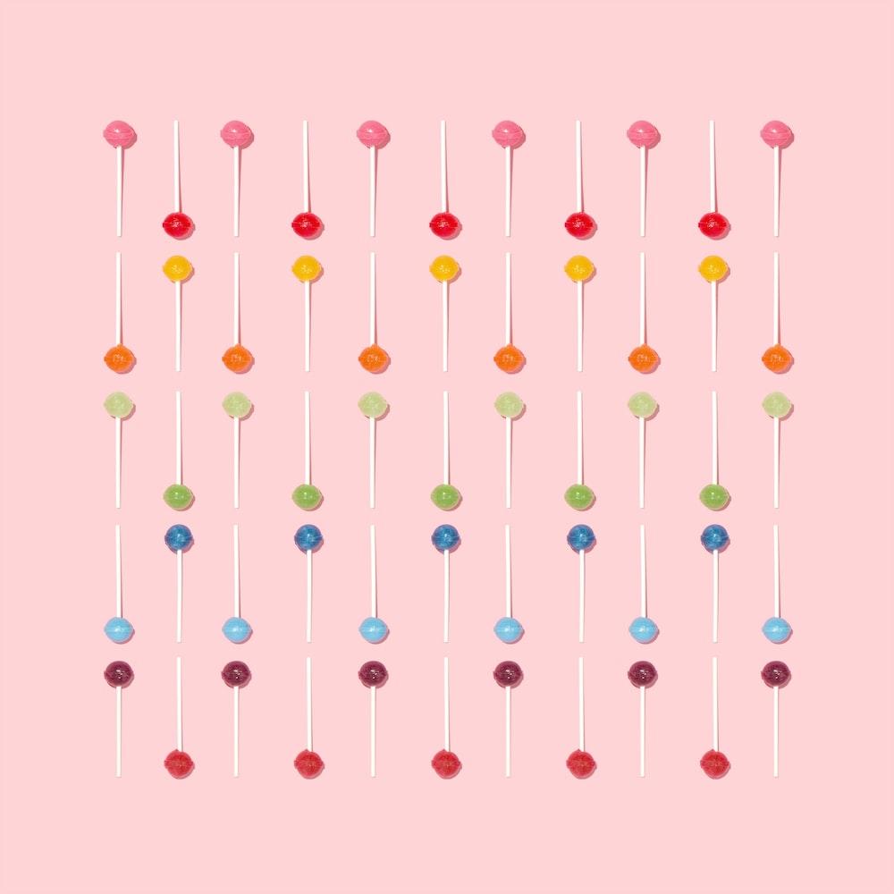 bunch of lollipops