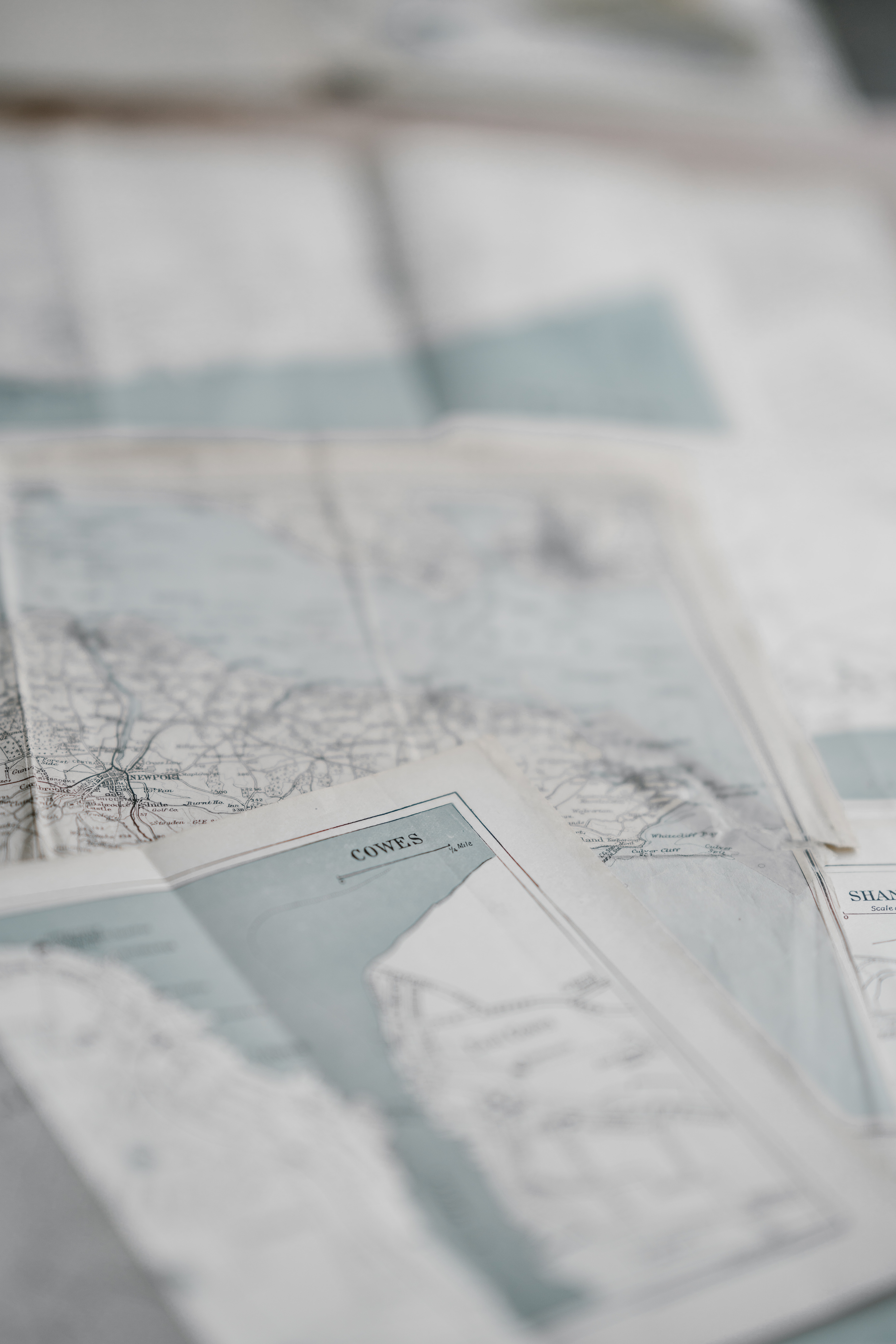 maps on top of each other