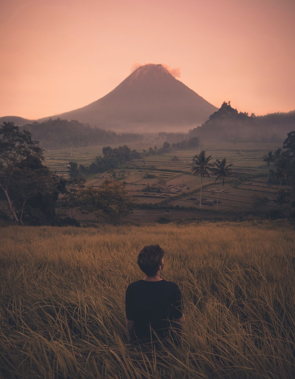 Best 100 stunning bali pictures download free images on unsplash person standing in front of mountain stopboris Images