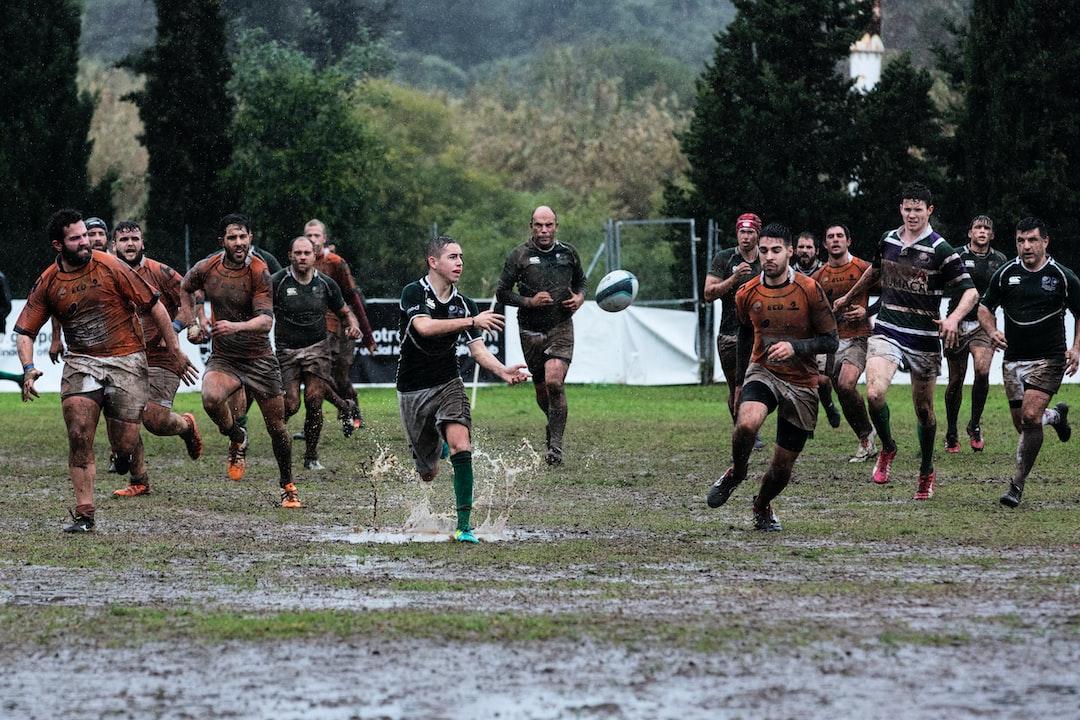 Partido disputado el 12-02-2017 bajo una intensa lluvia entre el Rugby Facultad de Económicas Málaga y el Club de Rugby Málaga B en el Bahías Park de Marbella.