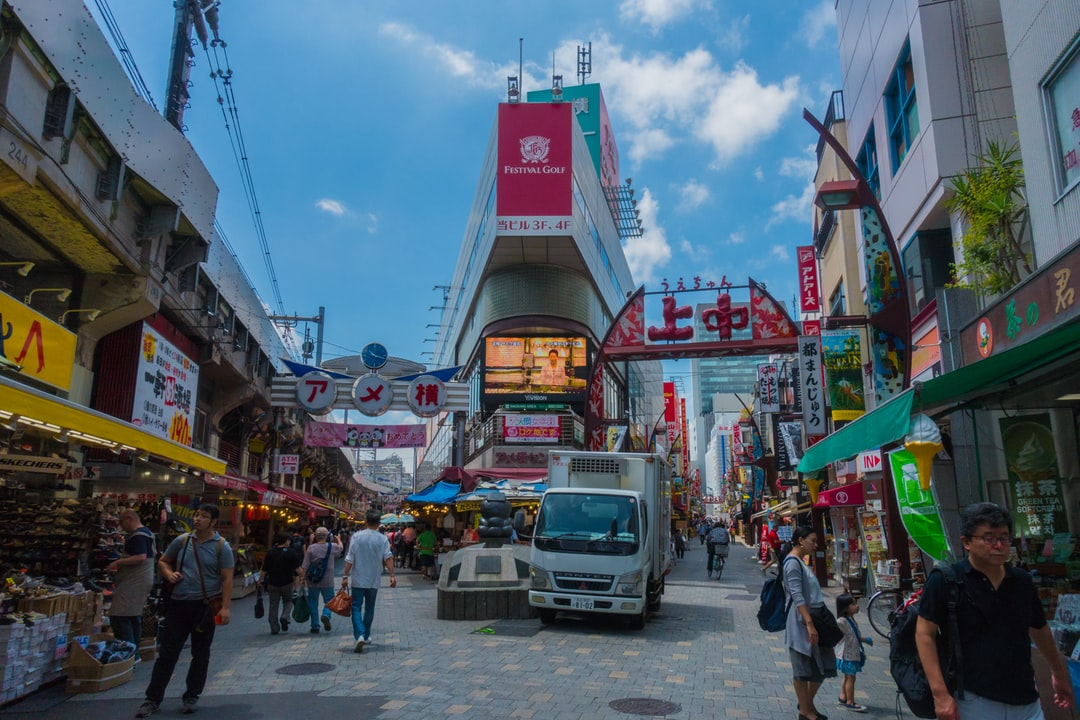 Ueno market area in Tokyo. Busy but beautiful place to have a walk in the morning. Fresh relaxing vibes. ~