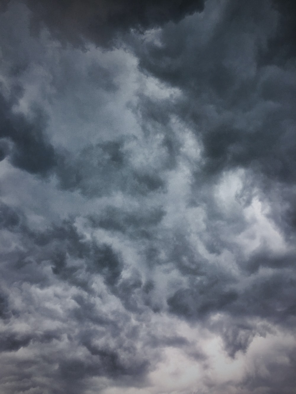 gray and white cloudy sky