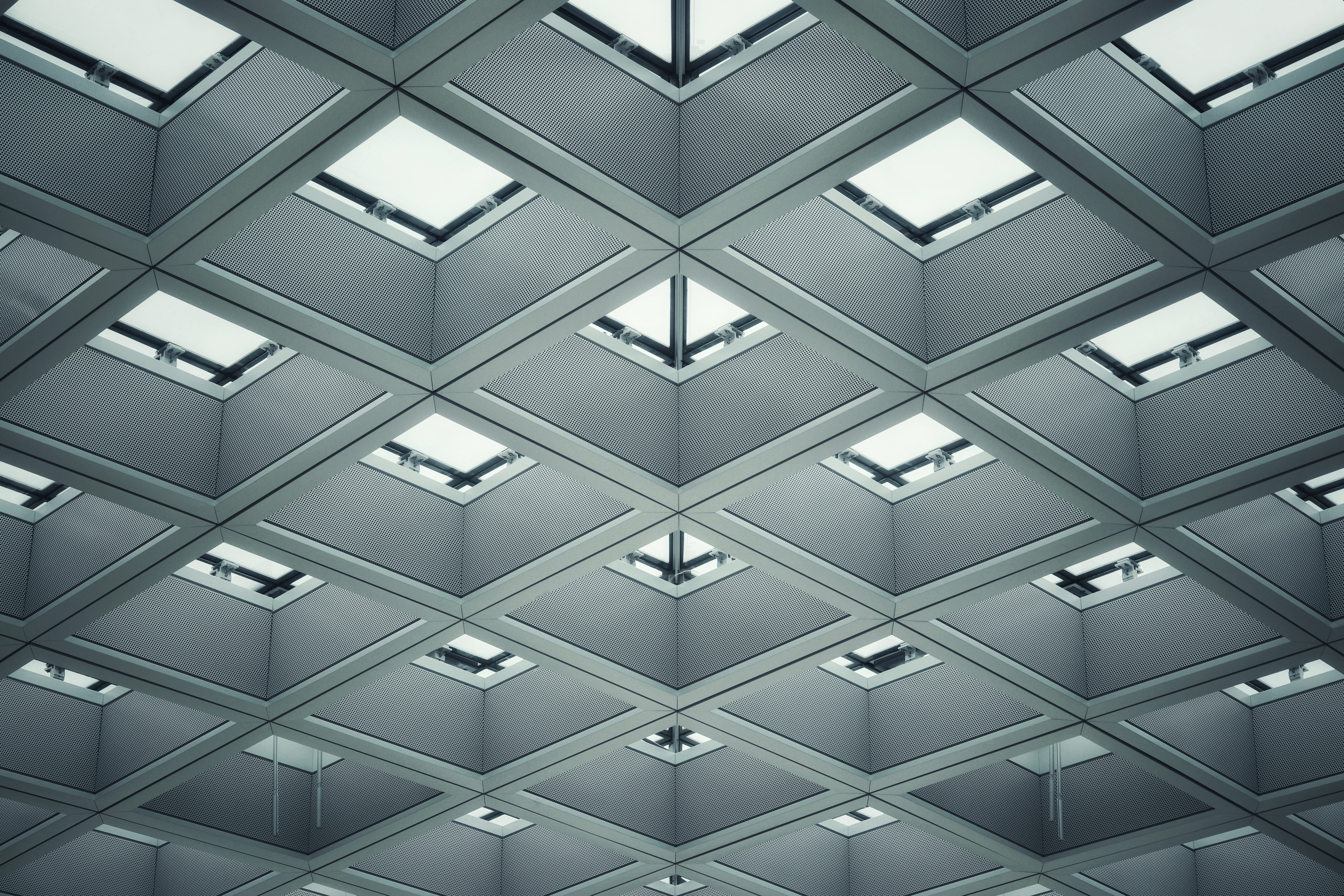gray ceiling