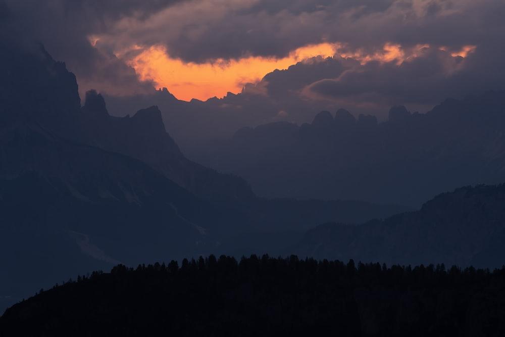 scenery of mountain