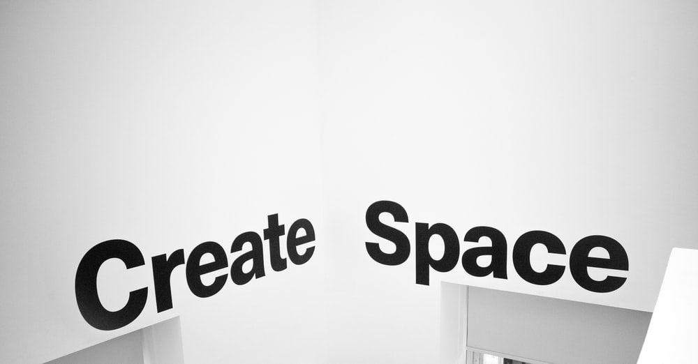 create space text
