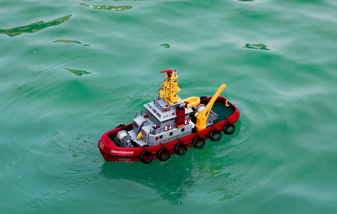 miniature tug boat