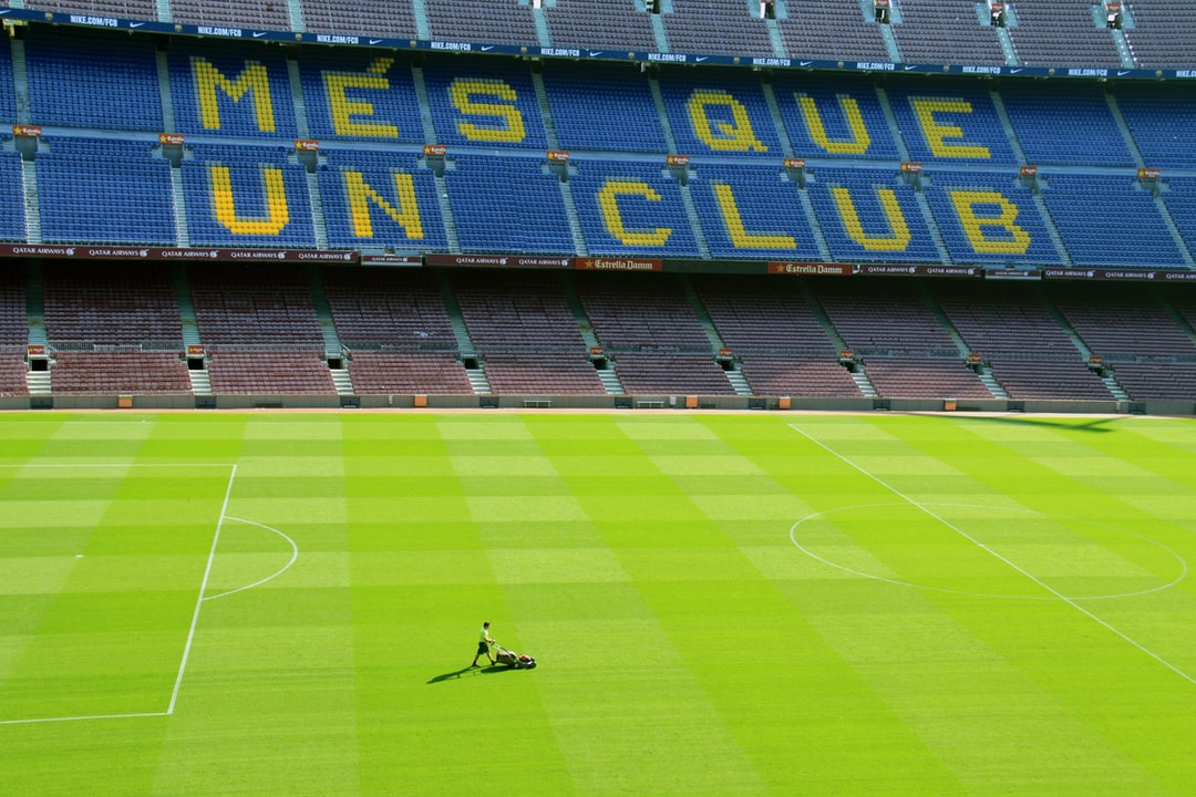 Whilst on vacation in Barcelona, I visited the world-famous Nou Camp stadium, the home of Barcelona.  The tour of the stadium and the history of the club is amazing.  As part of the tour, you end up on at the top of the first tier of seats and have a wonderful view of the pitch.  At this point that I noticed the lone gardener, with his lawn mower, walking up and down the pitch.  I thought, WOW, what an incredibly long and tedious job to have to do.  However, it is a job that needs to be done exceptionally well, to ensure the pitch is perfect for the stars of Barcelona to play football on it.