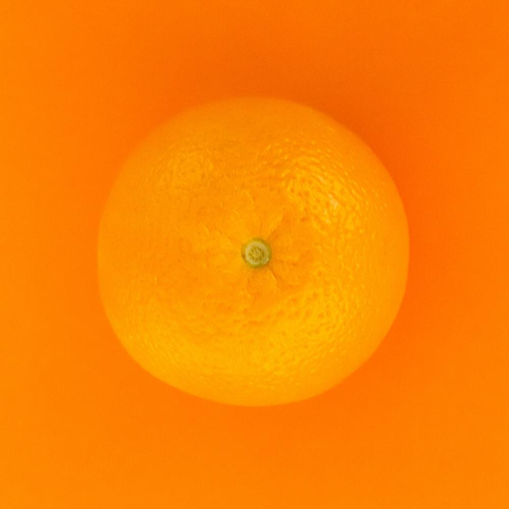 orange fruit with orange background