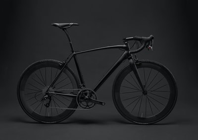 black road bike bike zoom background