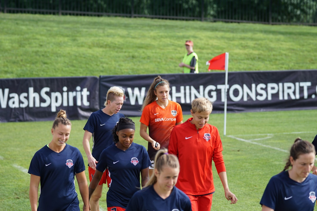 to see in NWSL opponents talking before a competition.   It is very common.  When I was a kid Coach Pilcher said never talk to the opposing team even if it is your brother