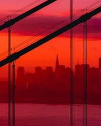 landmark photography of cityscape