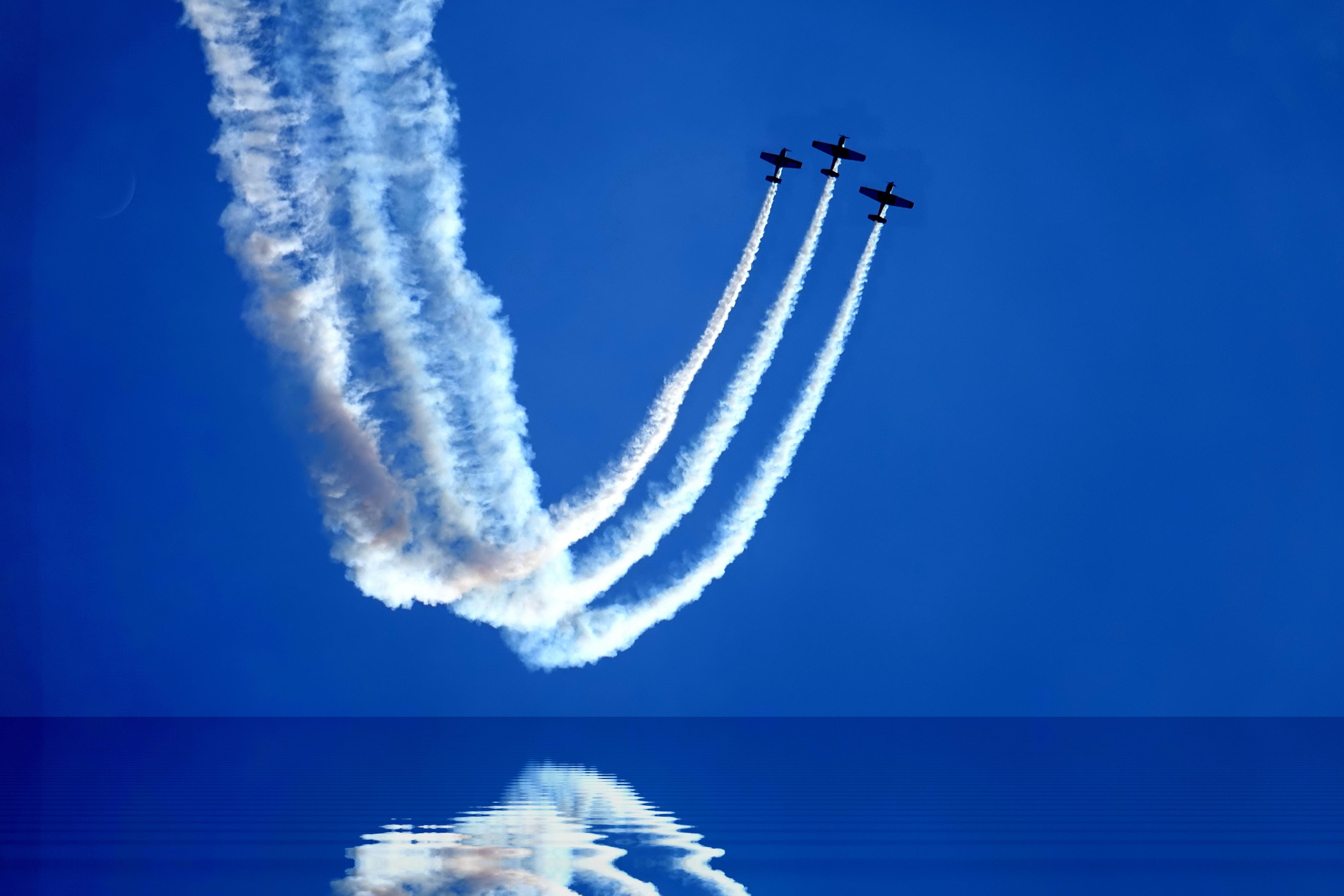 three jet plans