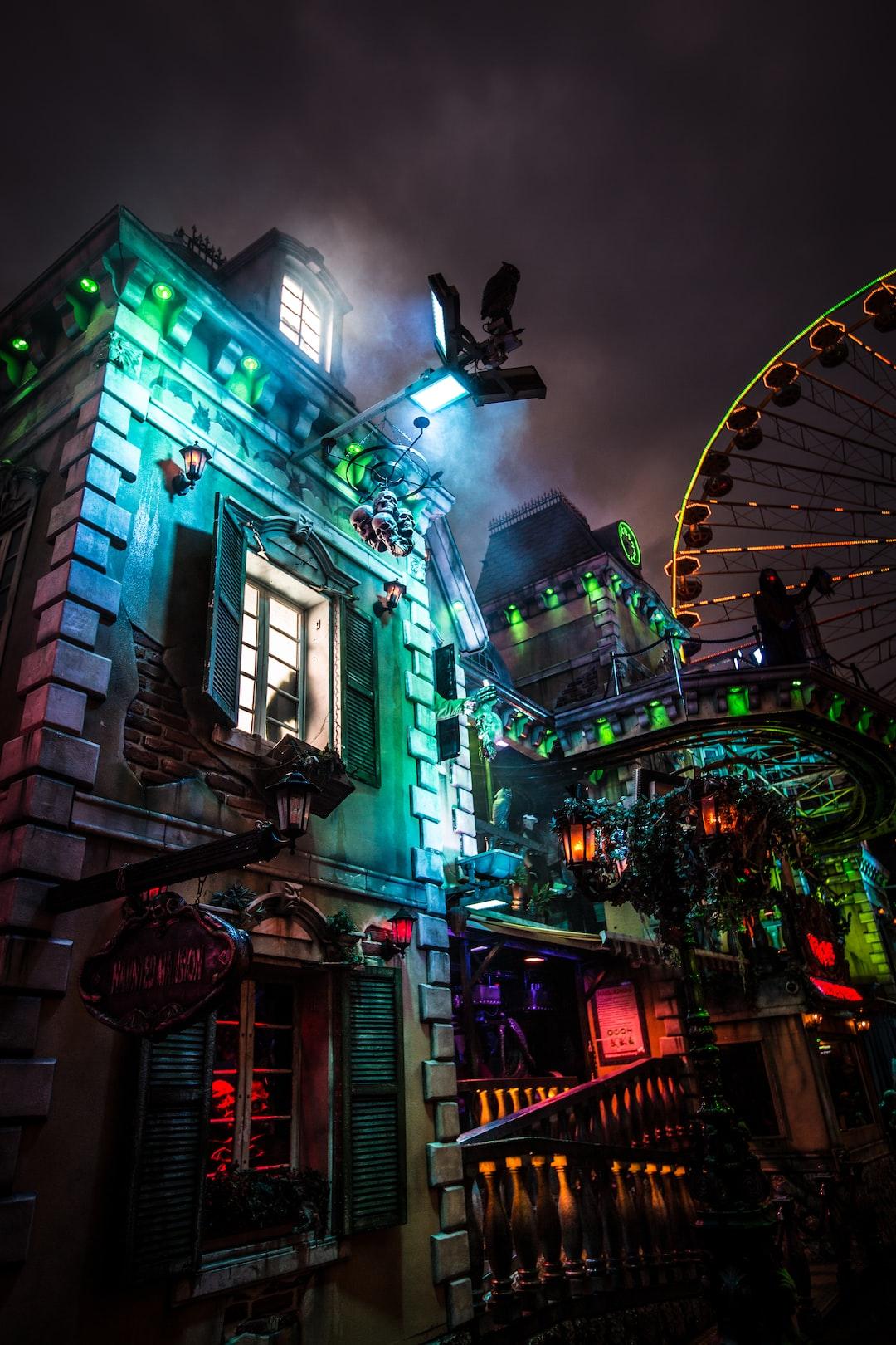 Haunted House on Funfair