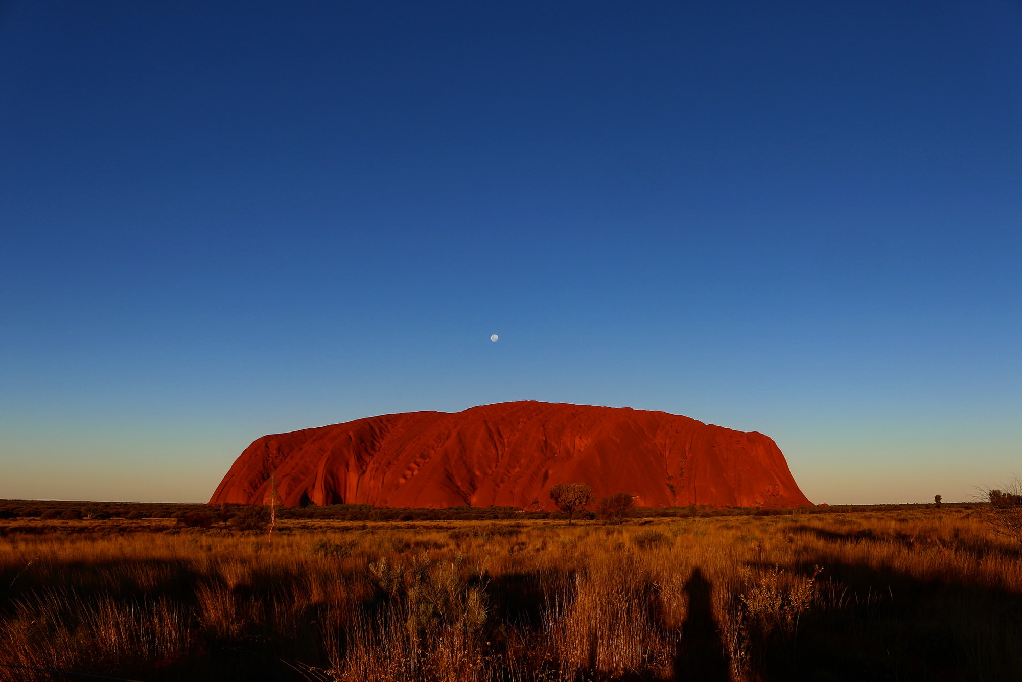 If you ever get to visit Uluru please make sure that you visit it during a sunset and a sunrise. Truely spectacular.