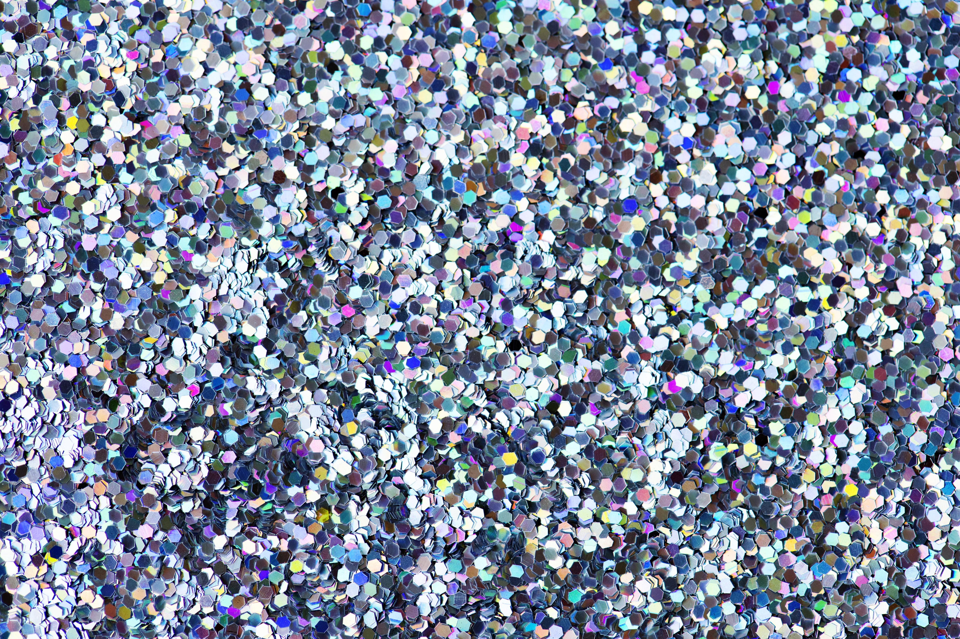 gray and purple sequined cloth