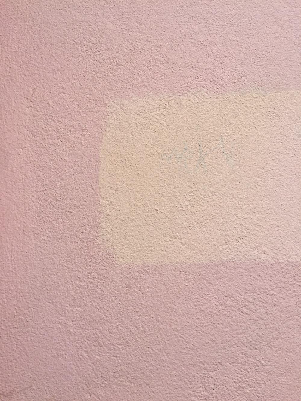 pink concrete surface