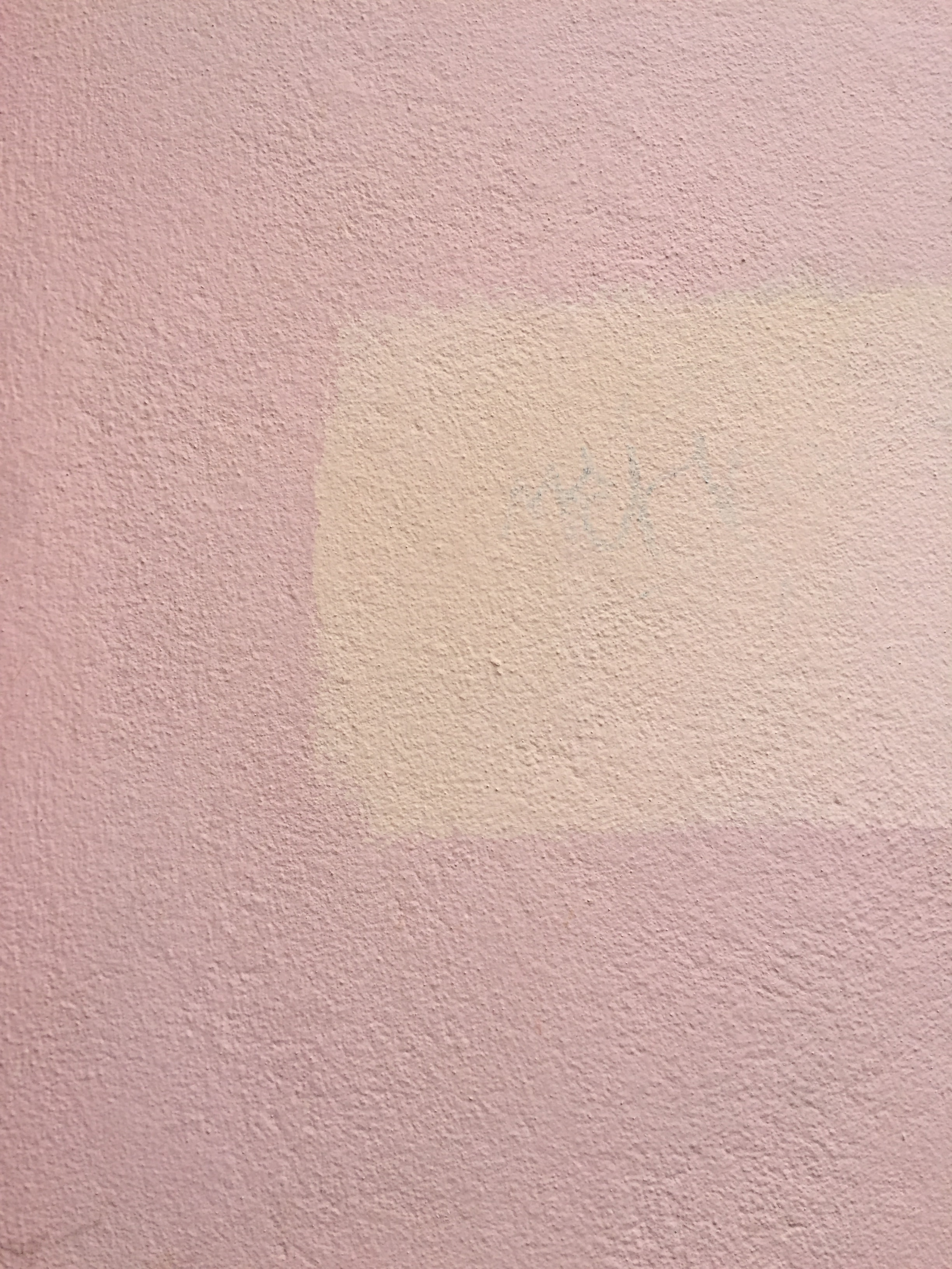 pink concrete surface