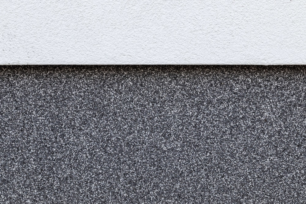 black and white granite surfaces