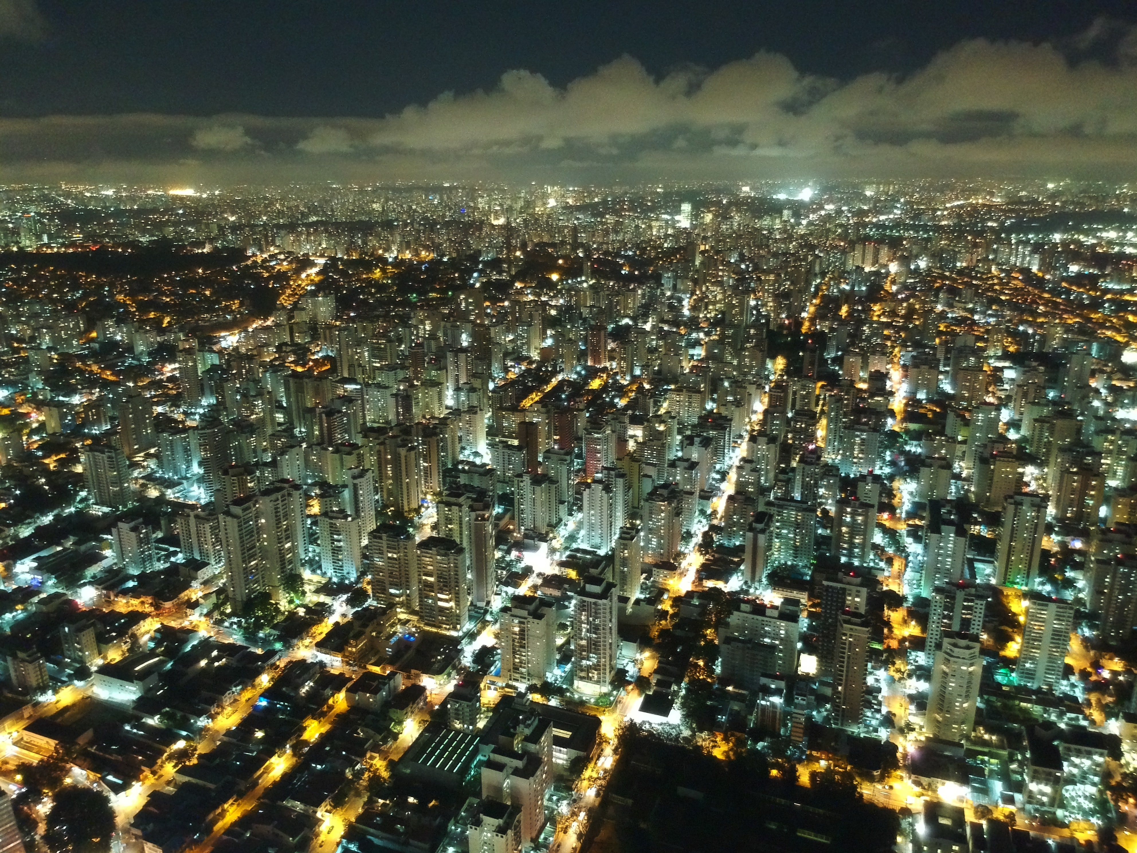 aerial photography of cityscape