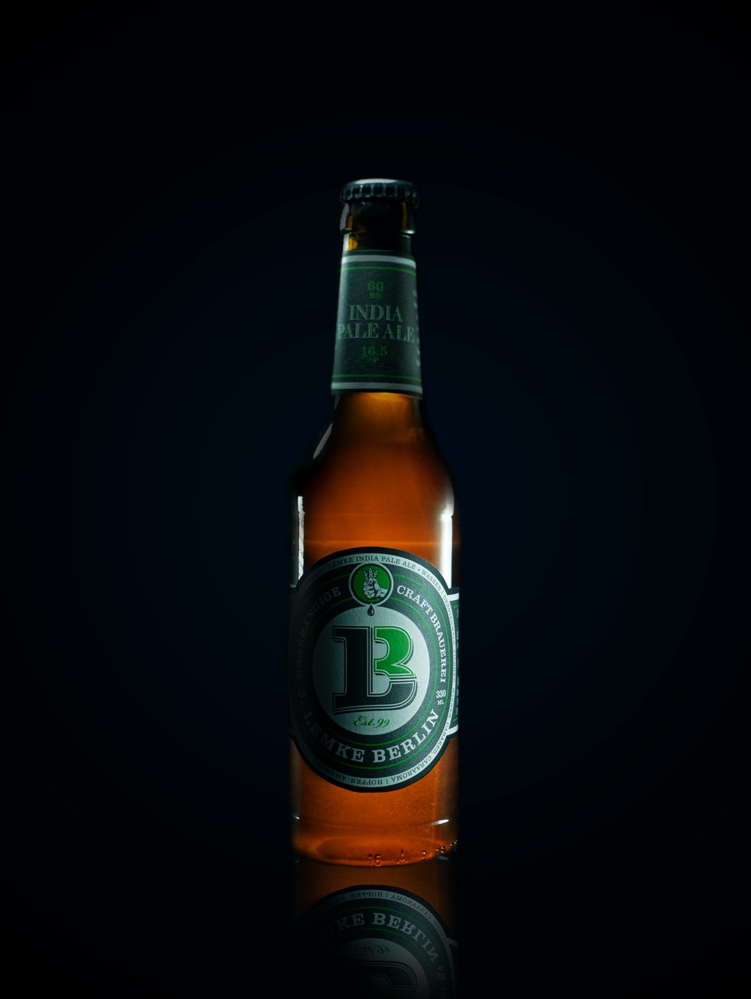 """Actually, this is the first composite I have ever done. Supporting some local brands, I bought a """"Lemke Berlin India Pale Ale"""" and had a fun time during the making of this photo."""