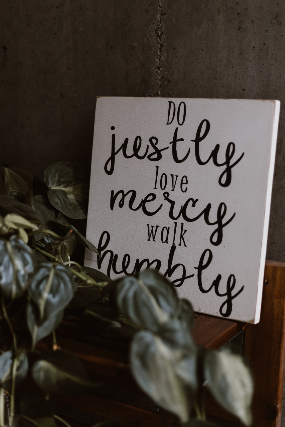 Do Justly love mercy walk humbly quote decor