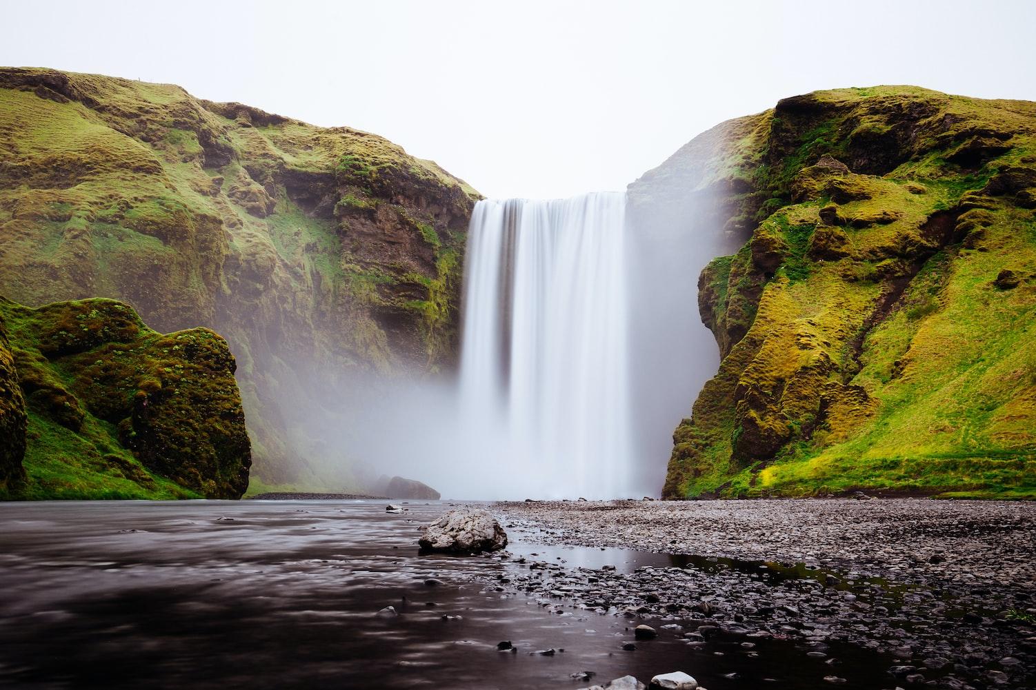 islandia-skógafoss-wodospad