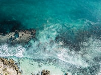 aerial view photography of ocean during daytime