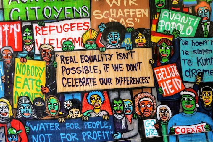 Jesus Was Love. Jesus Was Brown. Jesus Was a Refugee