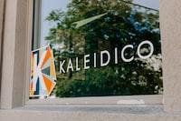Kaleidico glass signage