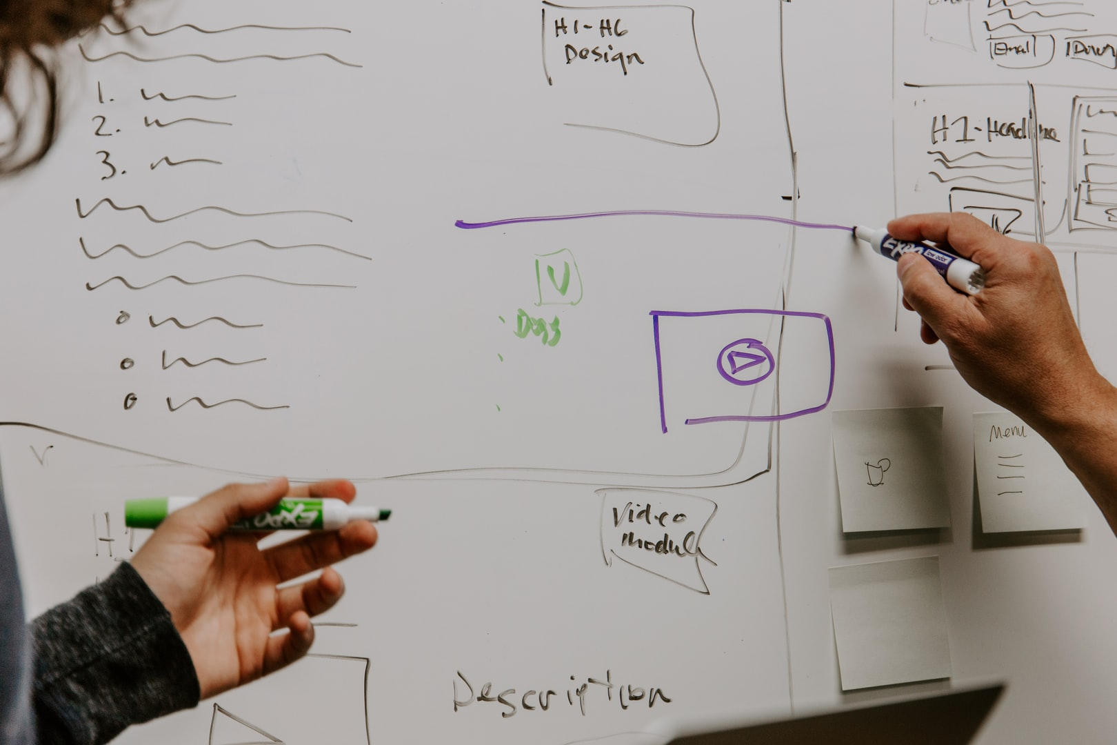 Collaboration on web design