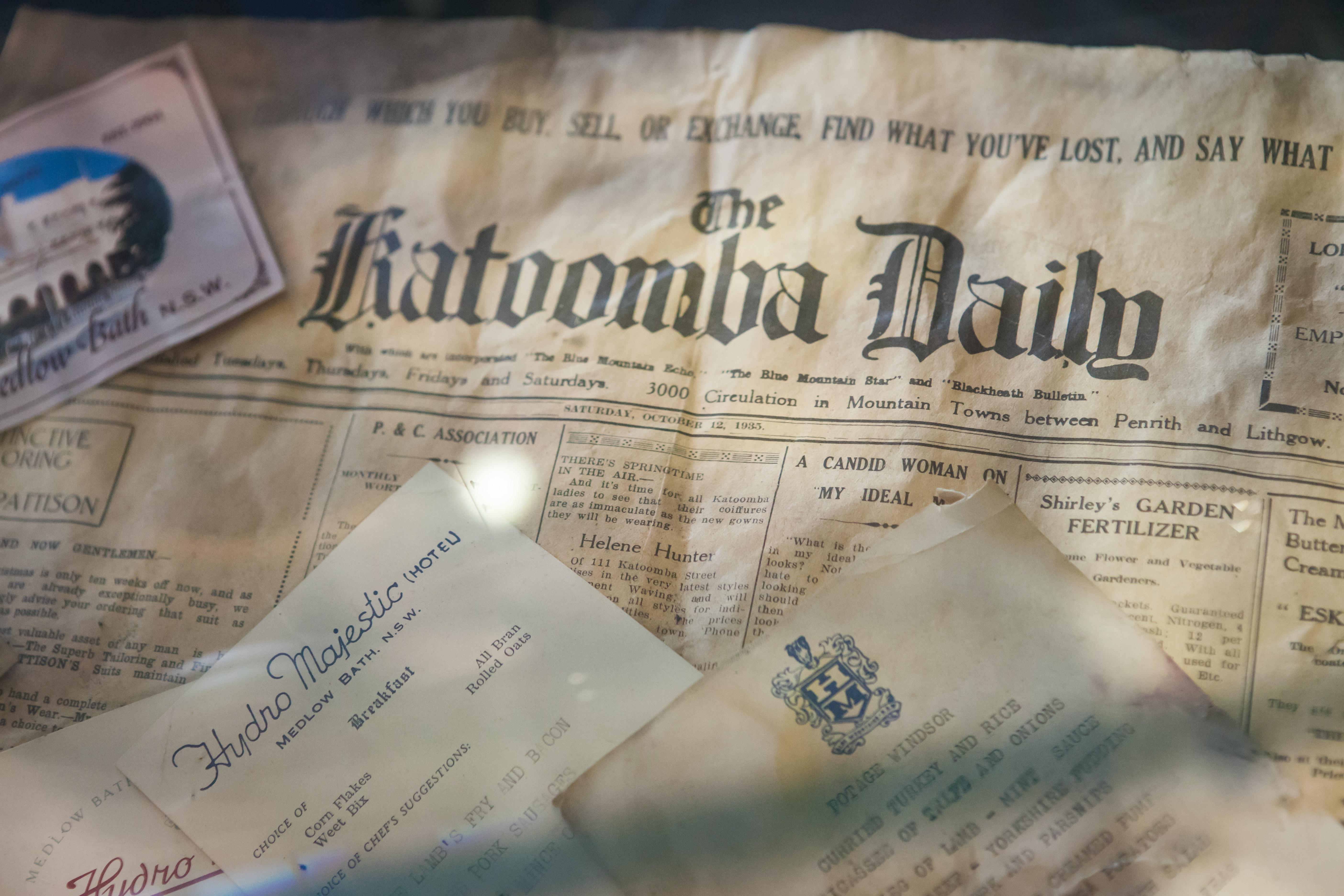 newspaper close up photography