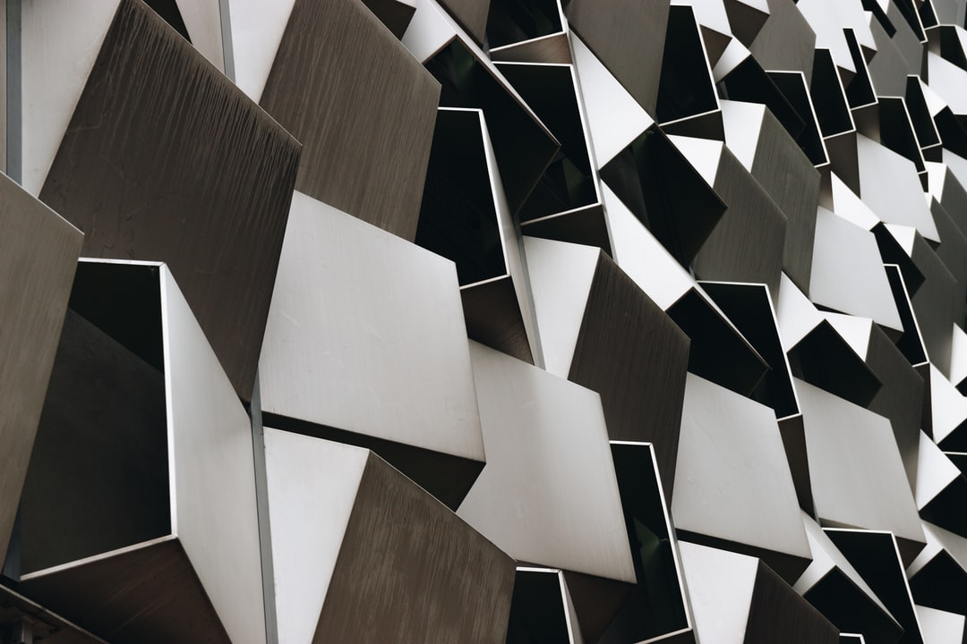 Abstract Metal Building in Sheffield