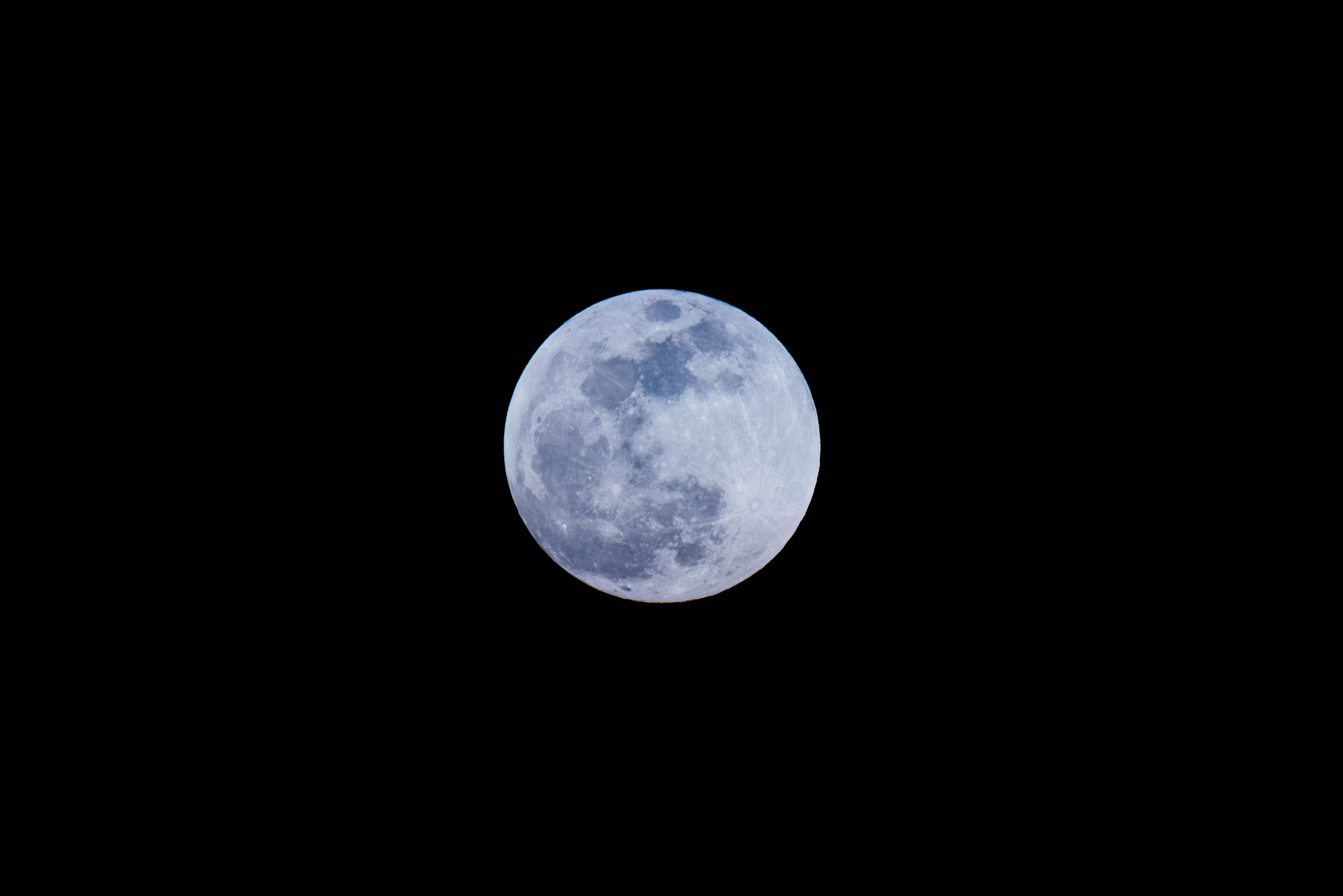 full moon photography