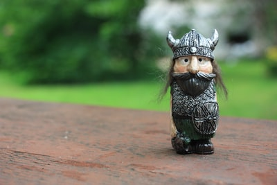 This figure I've recived directly from Iceland. It's begin of my scandinavian studies.