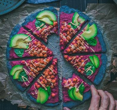 healthy pizza