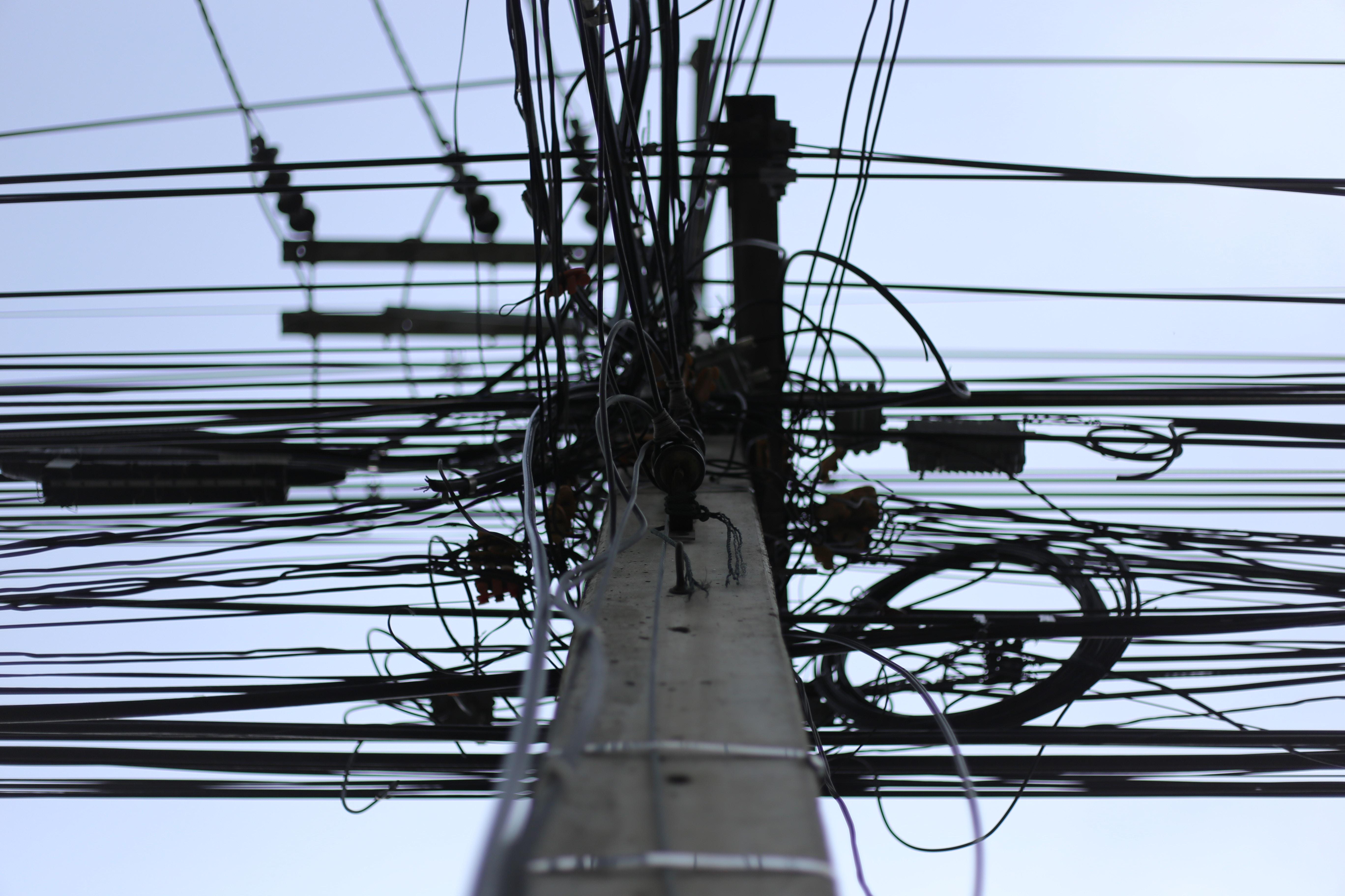 utility post
