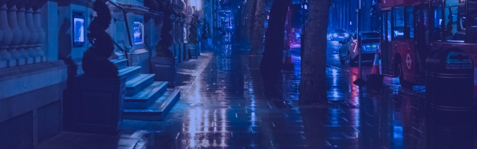 Download Wallpaper Aesthetic Dark City Cikimm Com