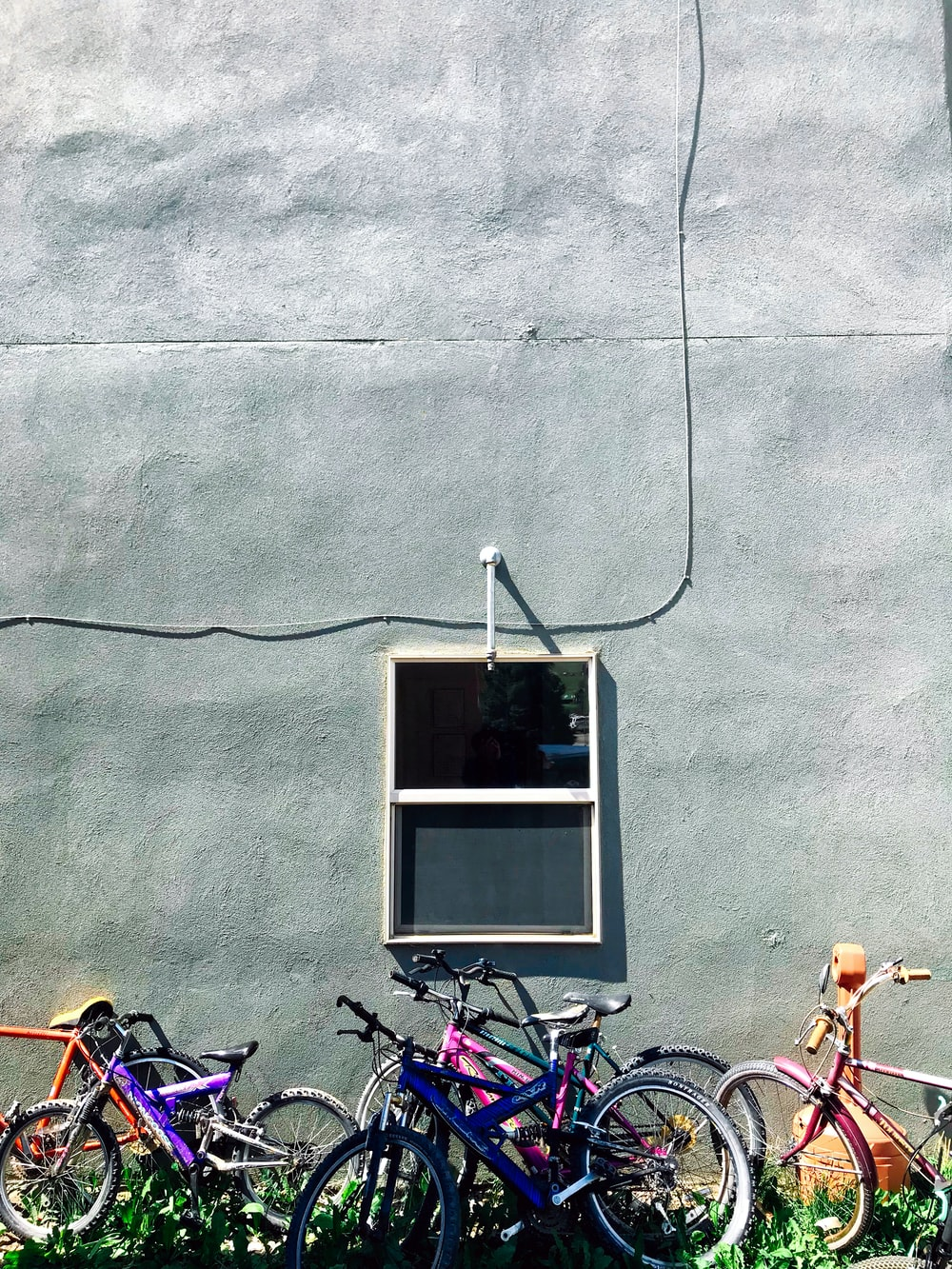 assorted bicycles during daytime