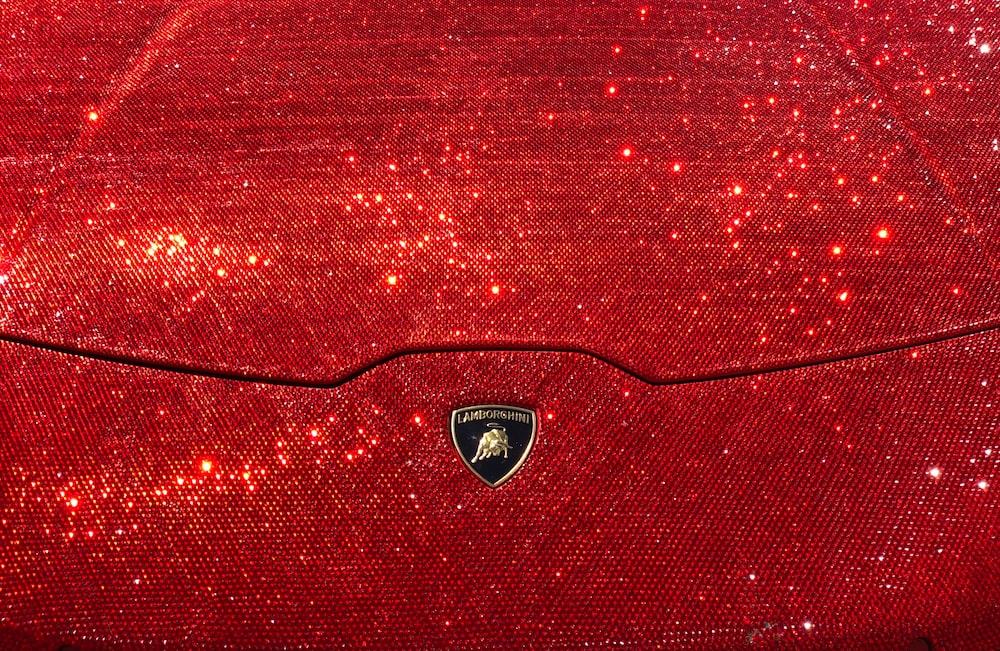 gold Lamborghini emblem