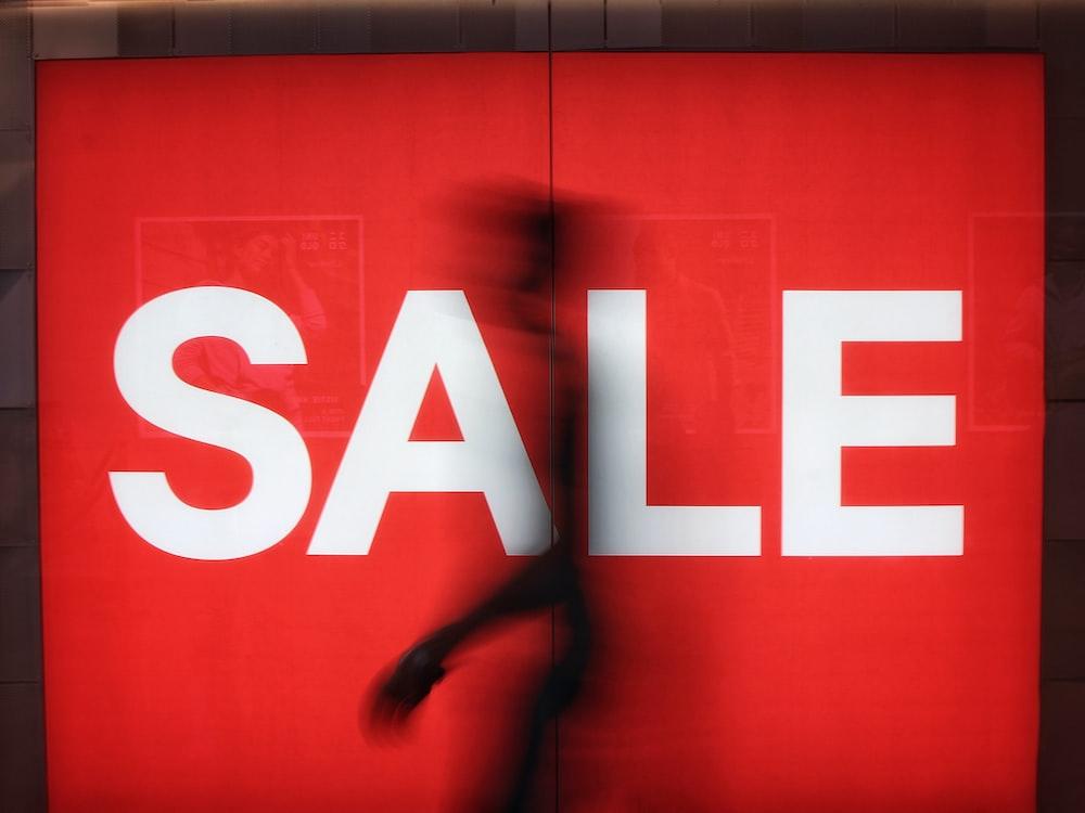 Sale signage