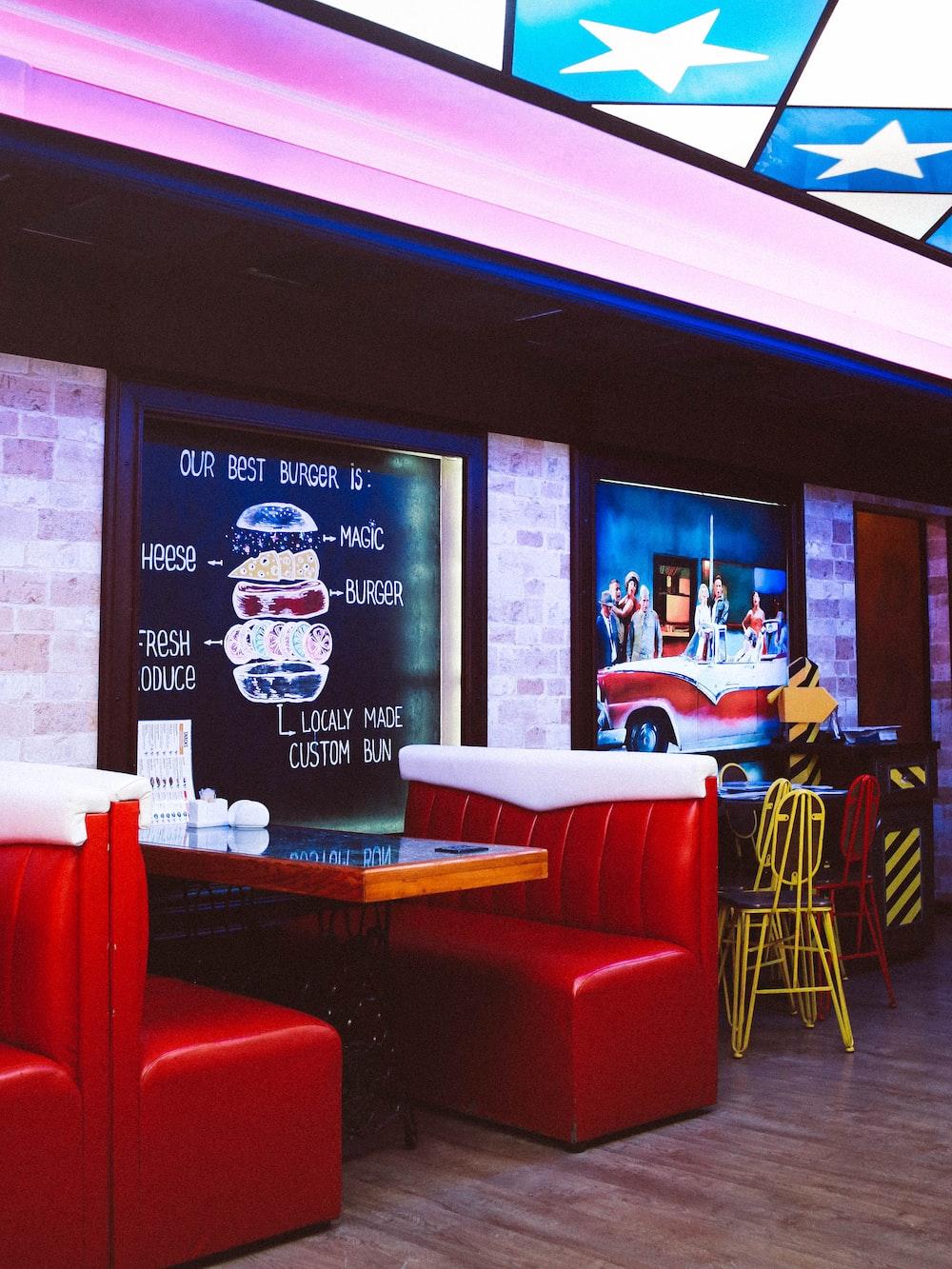 Retro Interior Red A-Nastya Dulhiier