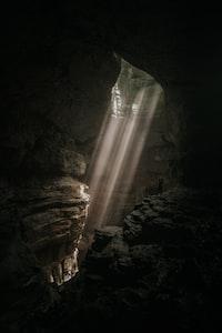 brown cave