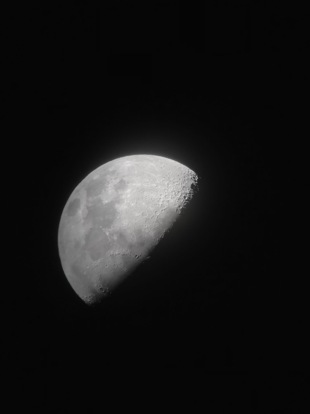 Imperfections of a moon