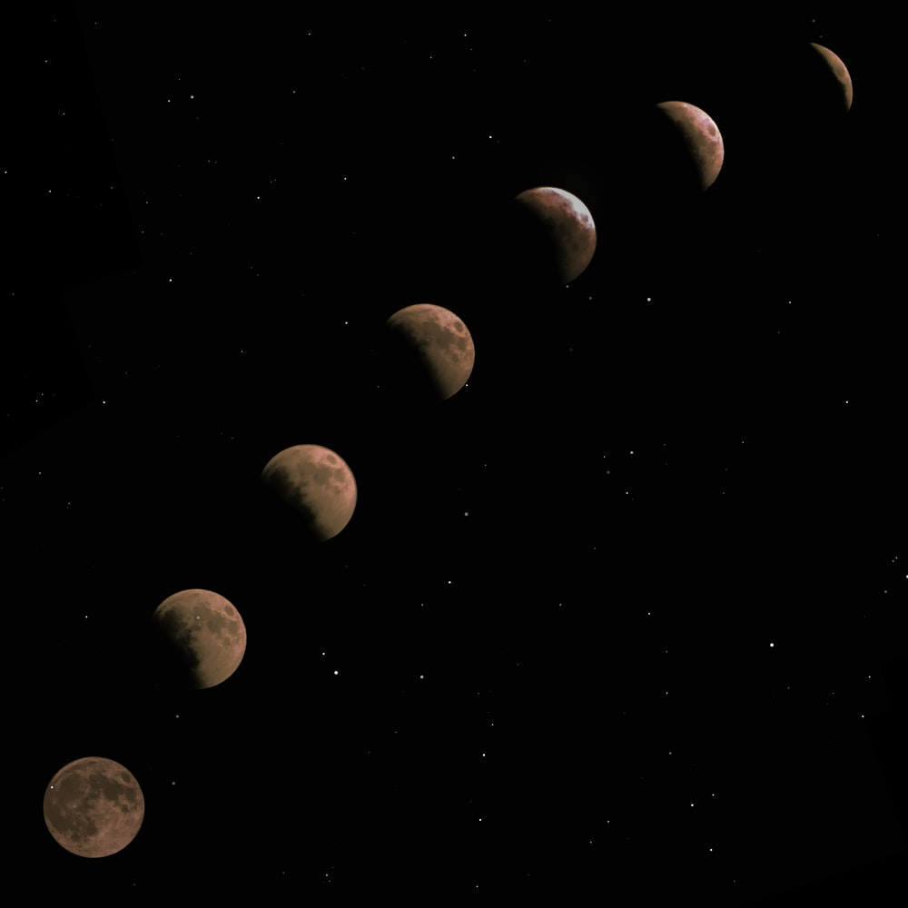 blood moon illustration