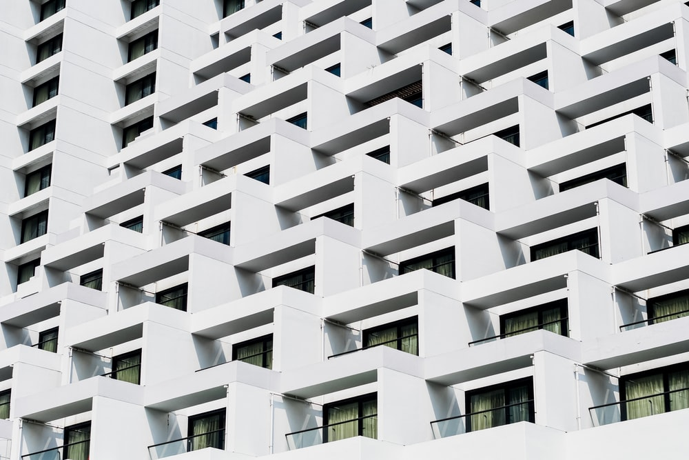 white concrete high-rise building