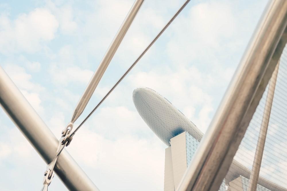 low angle photography of Marina Bay Sands, Singapore