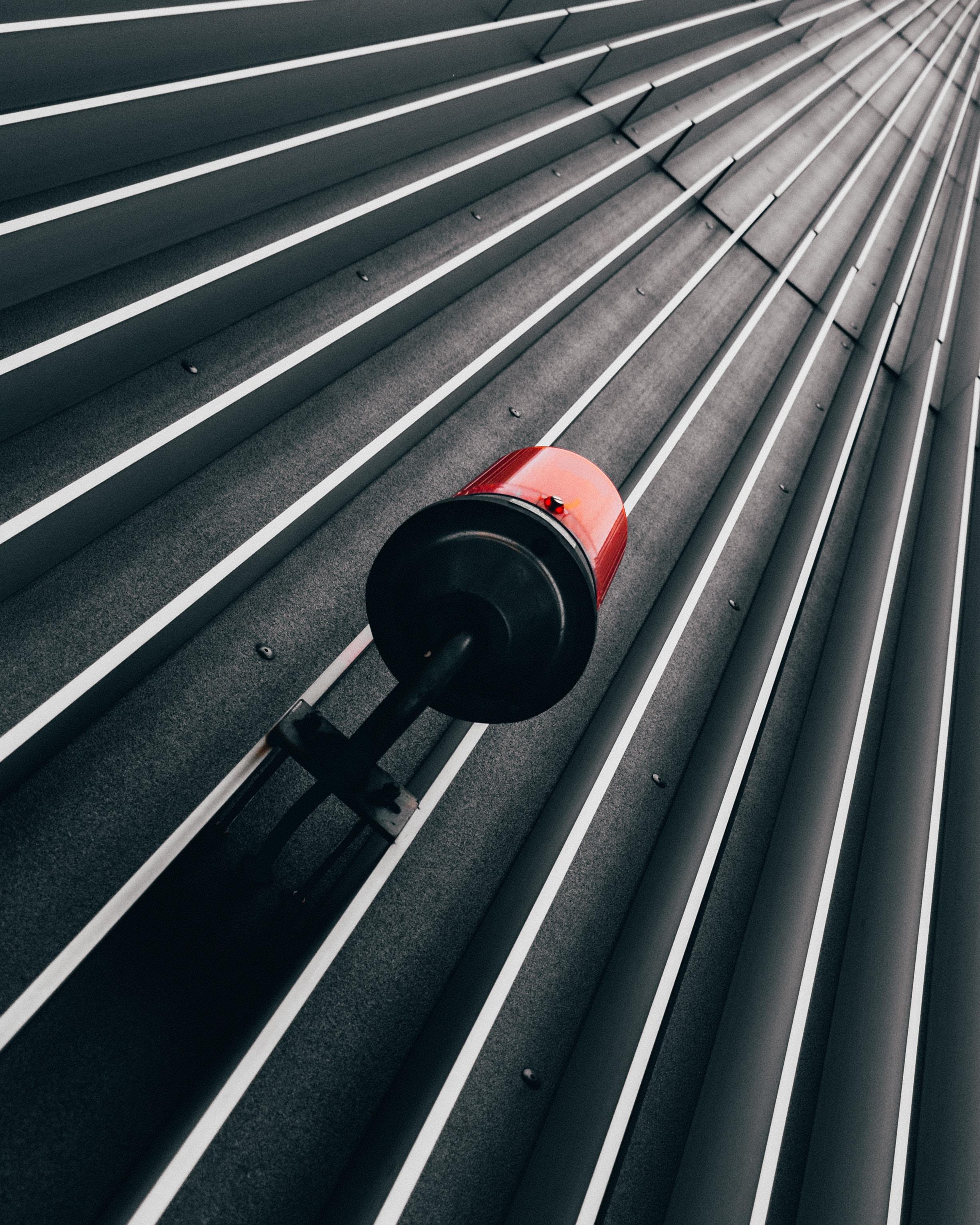 red beacon light