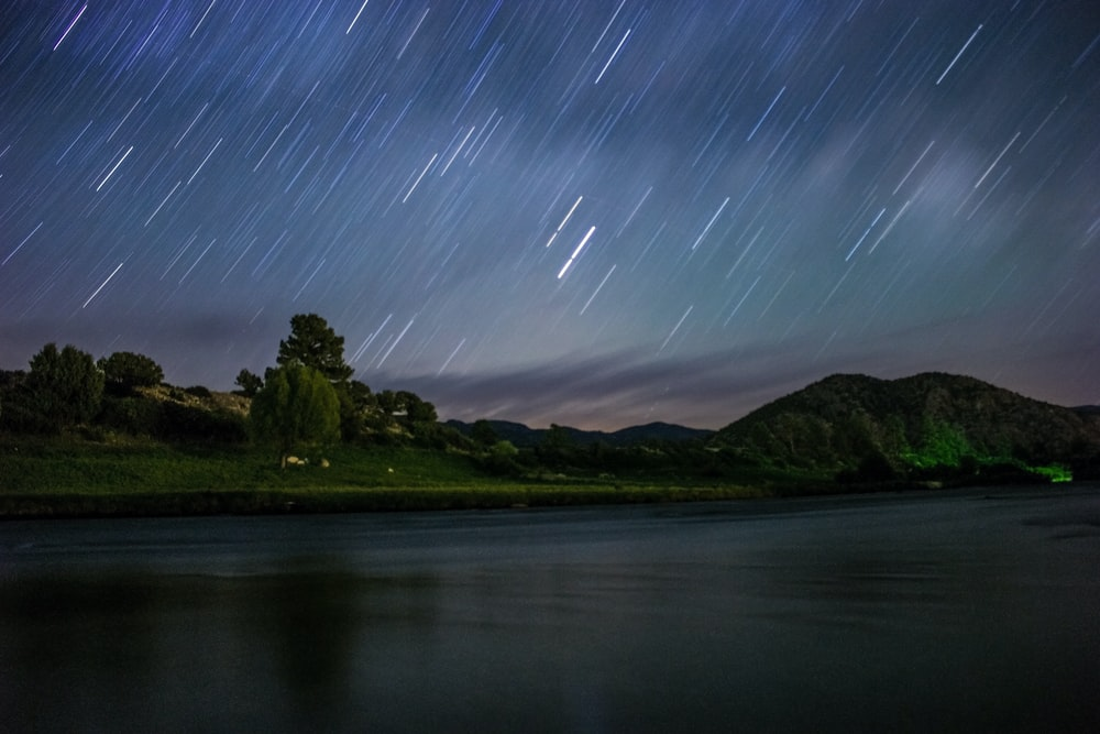 time lapse of stars